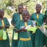 First Pads for Schoolgirls Kits Arrive in Uganda