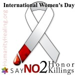 Women's Day Say NO to Honor Killings Facebook Campaign